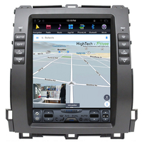 Tablette tactile Tesla Style Toyota Land Cruiser J120 de 2002 à 2009 : Android 7.1 GPS Wifi Bluetooth