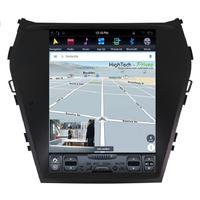Tablette tactile Tesla Style Hyundai Santa Fe de 2012 à 2018 : Android 7.1 GPS Wifi Bluetooth