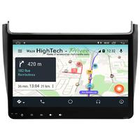 Autoradio tactile Android 9.1 GPS Volkswagen Polo de 2014 à 2017
