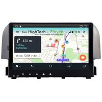 Autoradio écran tactile Android 9.1 GPS Honda Civic depuis 2016