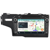 Autoradio écran tactile Android 9.1 GPS DVD Honda Jazz de 2014 à 2017