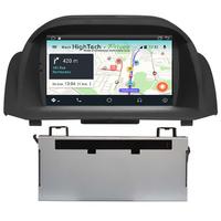 Autoradio tactile Android 8.1 GPS Ford Fiesta de 2008 à 2012