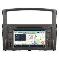 Poste Android 9.1 GPS écran tactile USB Bluetooth Mitsubishi Pajero de 2006 à 2015
