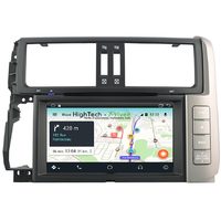 Autoradio Android 9.1 GPS avec Wifi Bluetooth Toyota Land Cruiser Prado 150