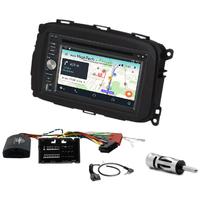 Autoradio Android 8.1 GPS écran tactile Bluetooth Wifi Alfa Romeo Giulietta depuis 2013