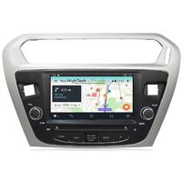 Autoradio Android 781 GPS avec Wifi Bluetooth Citroën Elysée et Peugeot 301