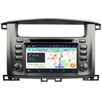Autoradio Android 9.0 GPS écran tactile Wifi Toyota Land Cruiser 100