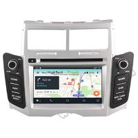 Autoradio Android 8.1 GPS écran tactile Wifi Toyota Yaris de 2005 à 2011