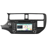 Autoradio GPS Android 9.1 Wifi Kia Rio de 09/2011 à 2015