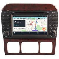 Autoradio Android 8.1 GPS Mercedes Benz Classe S W220 et SL R230 de 07/2004 à 2009