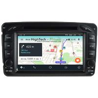 Autoradio Android 8.1 écran tactile GPS Mercedes Classe A W168, Classe C W203, Classe E W210, ML W163, CLK, SLK W170, Classe G, Viano & Vito