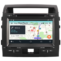Autoradio Android 9.1 écran tactile GPS DVD Toyota Land Cruiser 200 de 2007 à 2013
