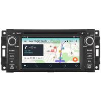Autoradio Android 9.1 GPS Waze Wifi écran tactile Jeep Commander Liberty Wrangler Grand Caravan
