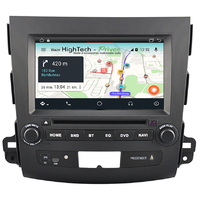 Autoradio GPS Wifi Bluetooth Android 9.1 Citroën C-Crosser Peugeot 4007 et Mitsubishi Outlander