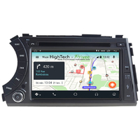 Autoradio Android 9.1 écran tactile GPS DVD Ssangyong Actyon & Kyron de 2006 à 2010