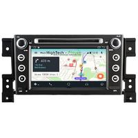 "Autoradio GPS Wifi Bluetooth Android 9.1 Suzuki Grand Vitara de 2005 à 2013 - écran 7"""