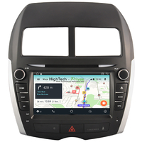 Autoradio GPS Wifi Bluetooth Android 9.1 Mitsubishi ASX depuis 2010, Citroën C4 Aircross & Peugeot 4008