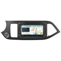 Autoradio Android 9.1 Wifi GPS Waze Kia Picanto de 2011 à 2017