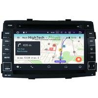 Autoradio Android 8.1 écran tactile GPS DVD Kia Sorento de 2010 à 2013