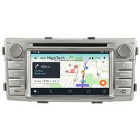 Poste Android 8.1 GPS Waze Wifi écran tactile Toyota Hilux de 2012 à 2015