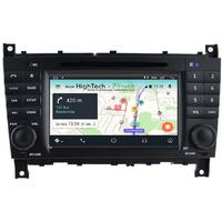 Autoradio Android 8.1 GPS Mercedes Benz Classe C W203 et CLC