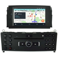 Autoradio Android 10 GPS Mercedes Classe C W204 de 2007 à 2011