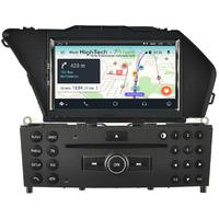 Autoradio écran tactile Android DVD GPS Mercedes GLK X204 de 2008 à 2012