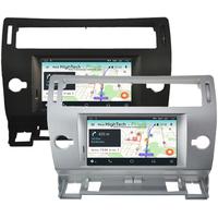 Poste Android 10 GPS Waze Wifi écran tactile Citroën C4 de 2004 à 2011