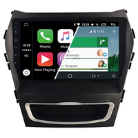 Ecran tactile Android Auto et Carplay GPS Wifi Bluetooth Hyundai Santa Fe de 2012 à 2018