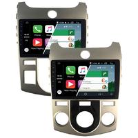 Ecran tactile Android Auto et Carplay GPS Wifi Bluetooth USB Kia Forte de 2008 à 2012