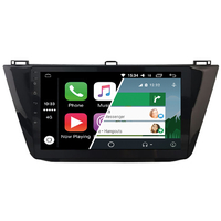 Ecran tactile Android Auto (option Carplay) GPS Wifi Bluetooth Volkswagen Touran et Tiguan depuis 2016