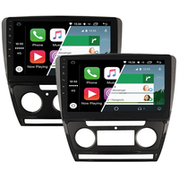 Ecran tactile Android Auto (option Carplay) GPS Wifi Bluetooth Skoda Octavia de 2010 à 2014