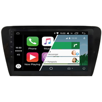Ecran tactile Android Auto (option Carplay) GPS Wifi Bluetooth Skoda Octavia de 2013 à 2017