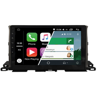 Ecran tactile Android Auto (option Carplay) GPS Wifi Bluetooth Toyota Highlander depuis 2014