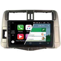 Ecran tactile Android Auto (option Carplay) GPS Wifi Bluetooth Toyota Land Cruiser 150 de 2010 à 2014