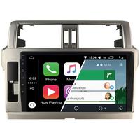 Ecran tactile Android Auto et Carplay GPS Wifi Bluetooth Toyota Land Cruiser Prado de 2014 à 2018