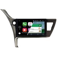 Ecran tactile Android Auto (option Carplay) GPS Wifi Bluetooth Toyota Auris et Corolla depuis 2017