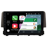 Ecran tactile Android Auto (option Carplay) GPS Wifi Bluetooth Honda Civic de 2016 à 2018