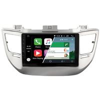 Ecran tactile Android Auto (option Carplay) GPS Wifi Bluetooth Hyundai Tucson de 2015 à 2018