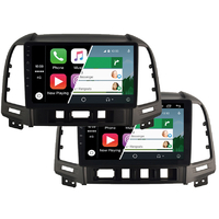 Ecran tactile Android Auto et Carplay GPS Wifi Bluetooth Hyundai Santa Fe de 2006 à 2012