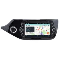 Poste Android 9.0 GPS Waze Wifi écran tactile Kia Cee'd depuis 04/2012