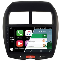 Ecran tactile Android Auto et Carplay GPS Wifi Bluetooth Mitsubishi ASX, Citroën C4 Aircross et Peugeot 4008
