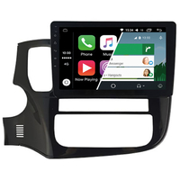 Ecran tactile Android Auto (option Carplay) GPS Wifi Bluetooth Mitsubishi Outlander depuis 2015