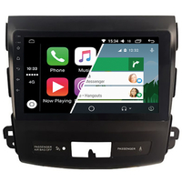 Ecran tactile Android Auto (option Carplay) GPS Wifi Bluetooth Mitsubishi Outlander, Citroën C-Crosser et Peugeot 4007