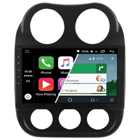 Ecran tactile Android Auto (option Carplay) GPS Wifi Bluetooth Jeep Patriot et Compass