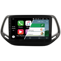 Ecran tactile Android Auto (option Carplay) GPS Wifi Bluetooth Jeep Commander et Compass depuis 2016