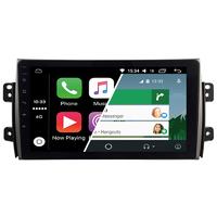 Ecran tactile Android Auto (option Carplay) GPS Wifi Bluetooth Suzuki SX4, Fiat Sedici de 2006 à 2012