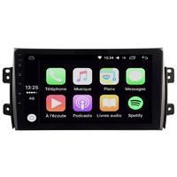Ecran tactile Android Auto et Carplay GPS Wifi Bluetooth Suzuki SX4, Fiat Sedici de 2006 à 2012