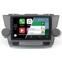 Ecran tactile Android Auto et Carplay GPS Wifi Bluetooth Toyota Highlander de 2008 à 2013