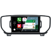 Ecran tactile Android Auto et Carplay GPS Wifi Bluetooth Kia Sportage depuis 2016